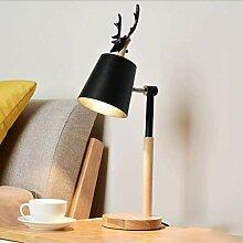 YUI Log Wohnzimmer Tischlampe, moderne
