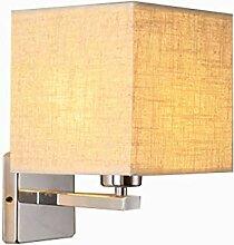 YUI Modern Einfach Wandlampe LED Stoff