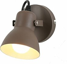 YUI Modern LED Wandlampe Innen Metall E27 Balkon