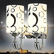 YUI Moderne minimalistische Wandlampe Schlafzimmer