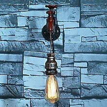 YUI Retro Kreativ Wandlampe Industrie Metall Bar