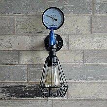 YUI Retro Wandlampe Metall Wasserrohr