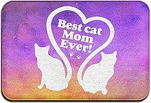 yui7 Beste Katzenmutter Aller Zeiten Fussmatte
