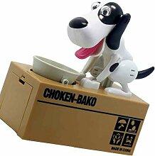 Yujum Netter Welpen-Münze Bank Choken Robotic Dog