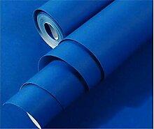 YUKANGI 3D-Tapete, Retro-Design, Blau, für Flur