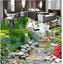 YUKANGI 3D-Wandtapete für den Garten,