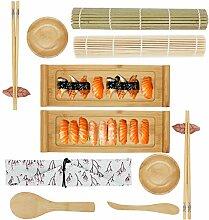 YULAO DA Sushi-Set und Sushi-Geschirr-Set, 2