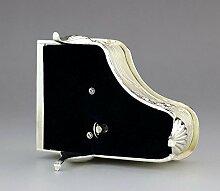 Yuloen Musik-Box mit Rosenmotiv und Musik des