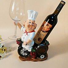 YULXS Weinregale Holz.20*13*31CM Wein Zubehör