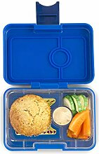 Yumbox Mini XS Snackbox (Neptune Blue, 3 Fächer)