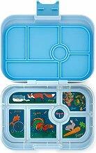 Yumbox Original M Lunchbox (Luna Blue, 6 Fächer)