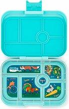 Yumbox Original M Lunchbox (Mystic Aqua, 6