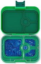 Yumbox Panino Lunchbox (Terra Green, 4 Fächer) -