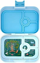Yumbox Panino M Lunchbox (Luna Blue, 4 Fächer) -