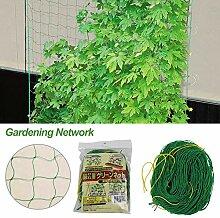 yummyfood Pflanze Ranknetz, Rankhilfen Gartennetze