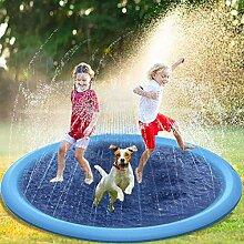 yummyfood Splash Pad Aufblasbares Wasserspielzeug