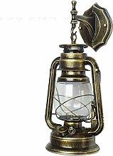 YUMXEON Wandleuchte E27 Vintage Licht rustikale
