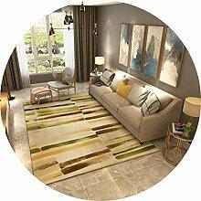 YUNC Wohnzimmer Bodenmatte Dekoration, abstrakte