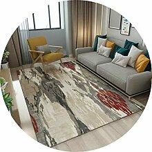 YUNC Wohnzimmer Bodenmatte Dekoration, Tinte Kunst