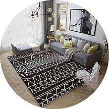 YUNC Wohnzimmer-Bodenmatten-Dekoration, einfacher