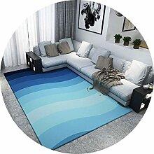YUNC Wohnzimmer-Bodenmatten-Dekoration,