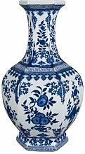 YUNHAO Chinesische Blau und Weiß Porzellan Blume