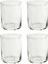 yunic - edda Wasserglas (4er-Set), 25 cl,