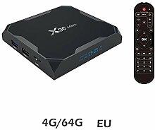 Yunn X96 Max TV-Gerät Top-Box, S905W Android 8.1