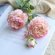 YUNRUI Sechs Transatlantische Rosen Simulieren