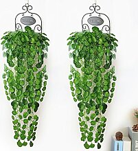 YUNSHANGAUTO Hängend Pflanze Blätter 2 Stück