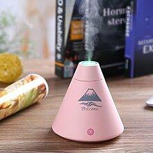 Yunt Mini Luftbefeuchter Befeuchtungseinrichtung Ultraschall 30ML für Auto, Wohnzimmer, Schlafzimmer, Babyzimmer, Büro, Yoga, SPA, Raum