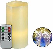 YUOKI99 LED-Teelicht mit Fernbedienung, für