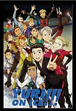 Yuri On Ice - Characters - Filmposter Kino Movie