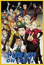 Yuri On Ice - Characters - Filmposter Kino Movie