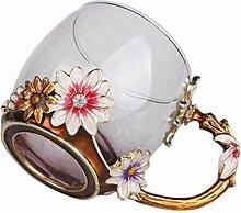 Yusell Handgemachte Kristall Emaille Schmetterling