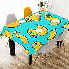 Yushg Gelbe Ente Tier Benutzerdefinierte Baumwolle