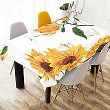 Yushg Gemalte Sonnenblume Benutzerdefinierte