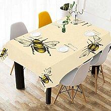 Yushg Hartes Arbeiten Cute Bee Benutzerdefinierte
