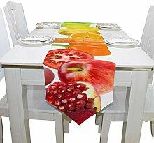 Yushg Mais Gemalt Gemüse Obst Kommode Schal Tuch