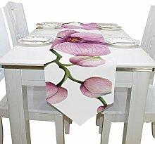 Yushg Orchidee Zweig Frühling Blume Kommode Schal