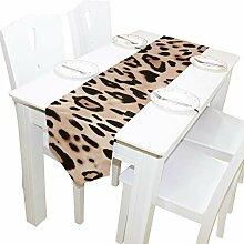 Yushg Schöne Leopardenmuster Kommode Schal Tuch