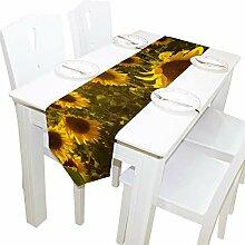 Yushg Schöne Motivierte Sonnenblume Kommode Schal