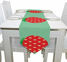 Yushg Strawberry Fruit Fashion Kommode Schal Tuch