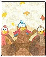 Yushg Thanksgiving Day Happy Turkey