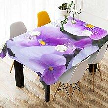 Yushg Violette Blume Lila Benutzerdefinierte
