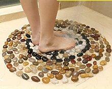 YUSHI Badezimmer Matte Dusche Anti-Rutsch-Matte WC