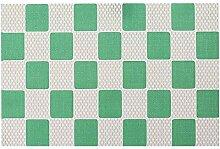 YUTAO Stoffservietten Tischset Für Geometrischen