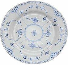 YUWANW Bone china blau und weiß serie platte