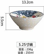 YUWANW Im Japanischen Stil Handbemalte Keramik