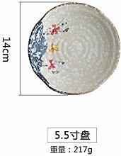YUWANW Japanischen Stil von Hand Bemalt Keramik